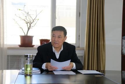 徐明会长出席省法学会机关党支部会议